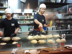 Okonomiyaki en Hiroshima