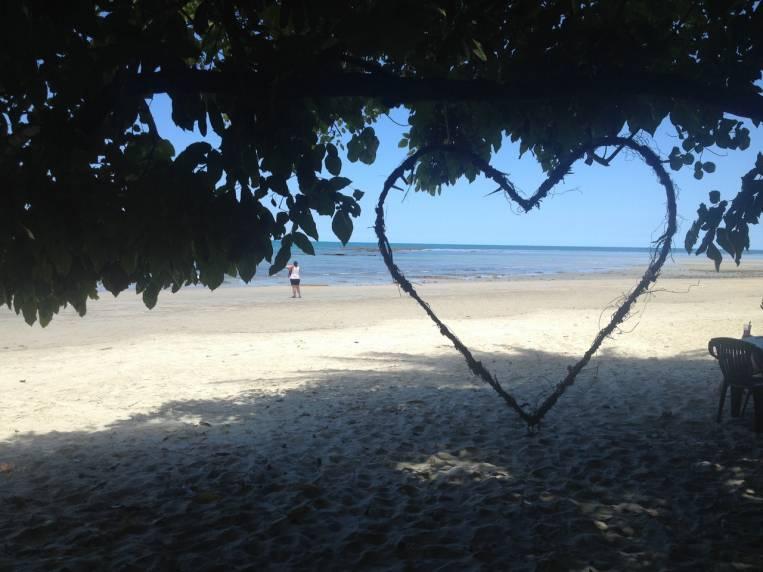 Las playas del norte de Australia son paradisíacas pero no puedes bañarte porque hay cocodrilos de agua salada.