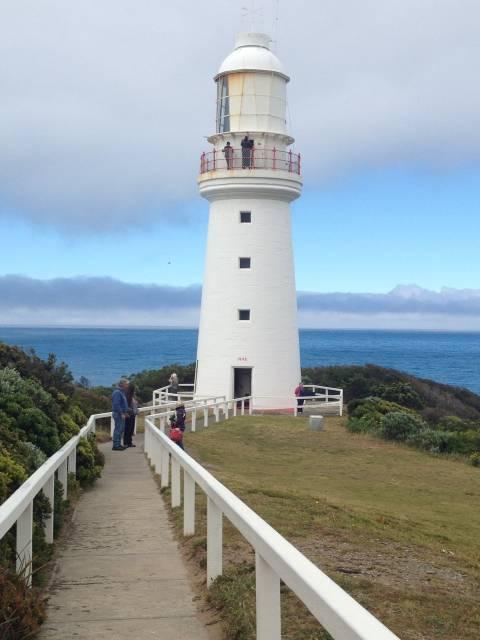 Cabo Otway, una de las paradas recomendables si haces la Great Ocean Road en coche.