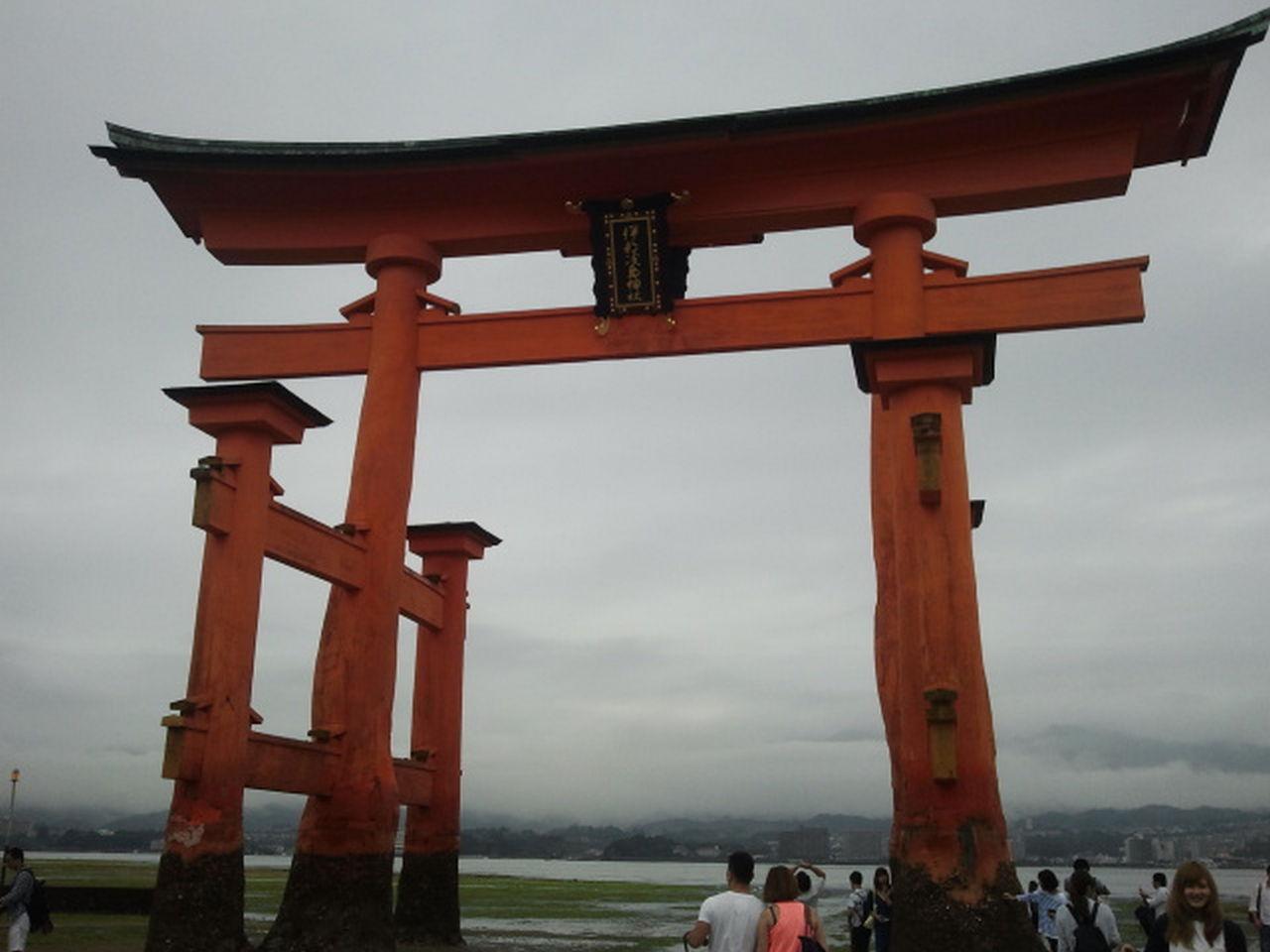 En Miyajima puedes ver uno de los Toriis más famosos de Japón.