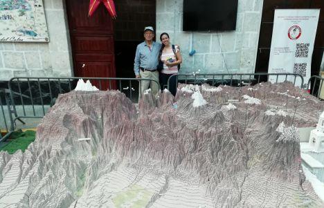 Maquetas de Perú que son una auténtica obra de arte. Entrevista a Iván Flores