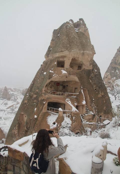 Castillo de Uchisar, uno de los imprescindibles en Capadocia.