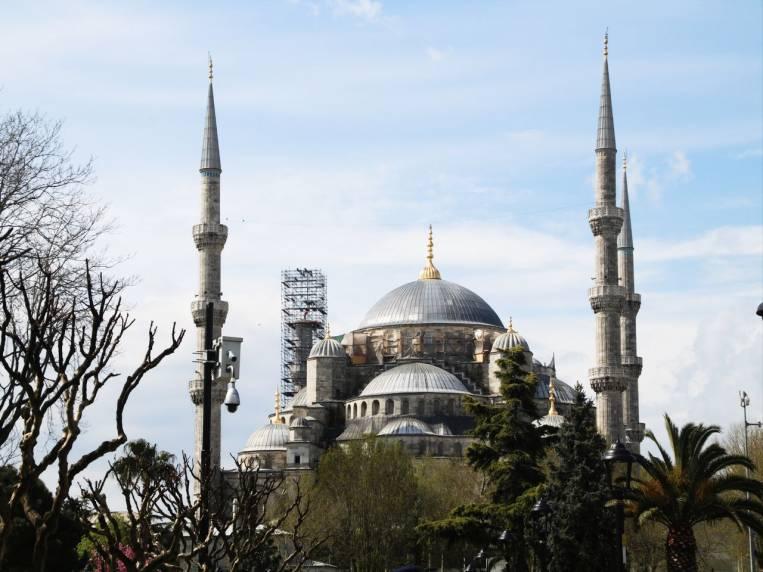 Mezquita Azul, un imprescindible que ver en Estambul.
