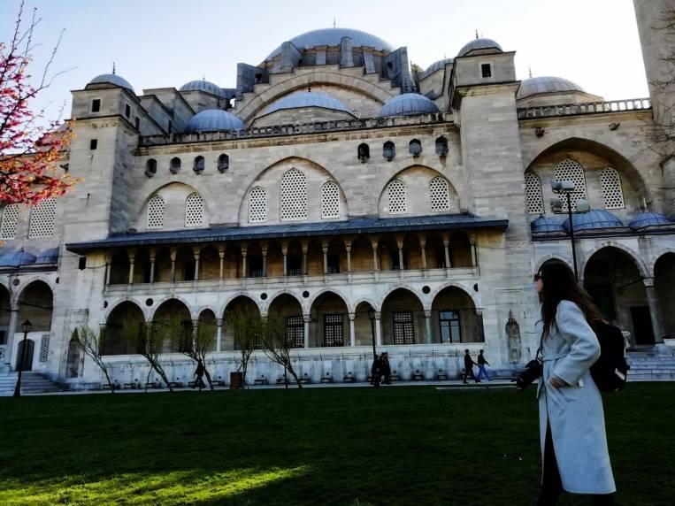 La Mezquita de Süleimaniye fue mi gran descubrimiento en Estambul.