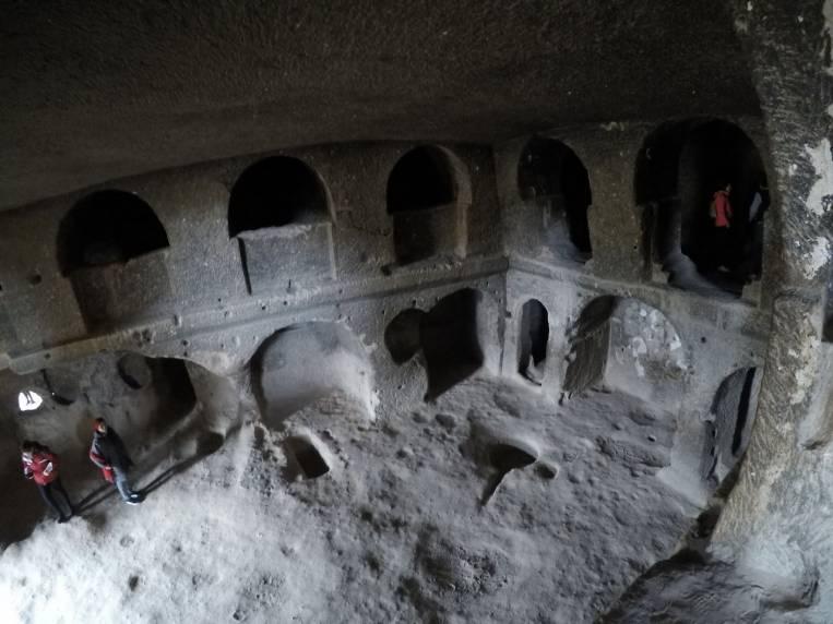 El Monasterio de Selime es el monasterio más grande de la región de Capadocia.