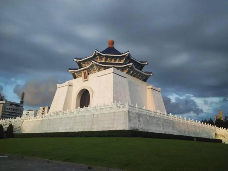 Salón Conmemorativo de Chiang Kai-shek en Taipei, erigido en memoria del ex-presidente de la República de China.