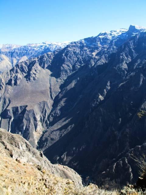 El Cañón del Colca es el segundo cañón más profundo del mundo.