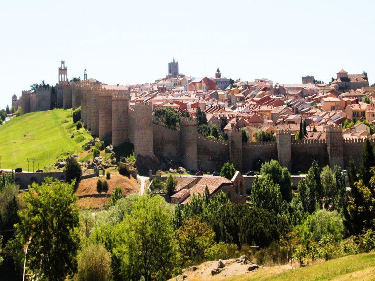 Ávila sorprende, a veces una imagen vale más que mil palabras.