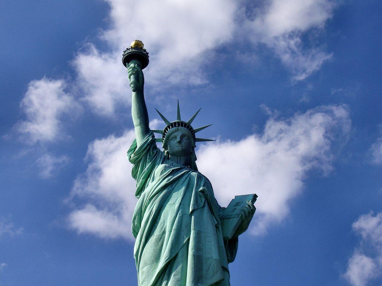 Estatua de la Libertad. Imagen de skeeze en Pixabay.
