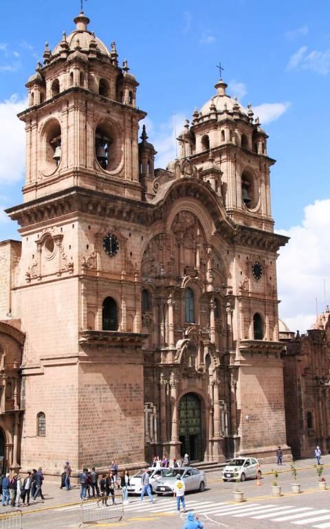 Mi iglesia favorita en Cuzco es la iglesia de la Compañía de Jesús. ¿A qué se te asemeja?