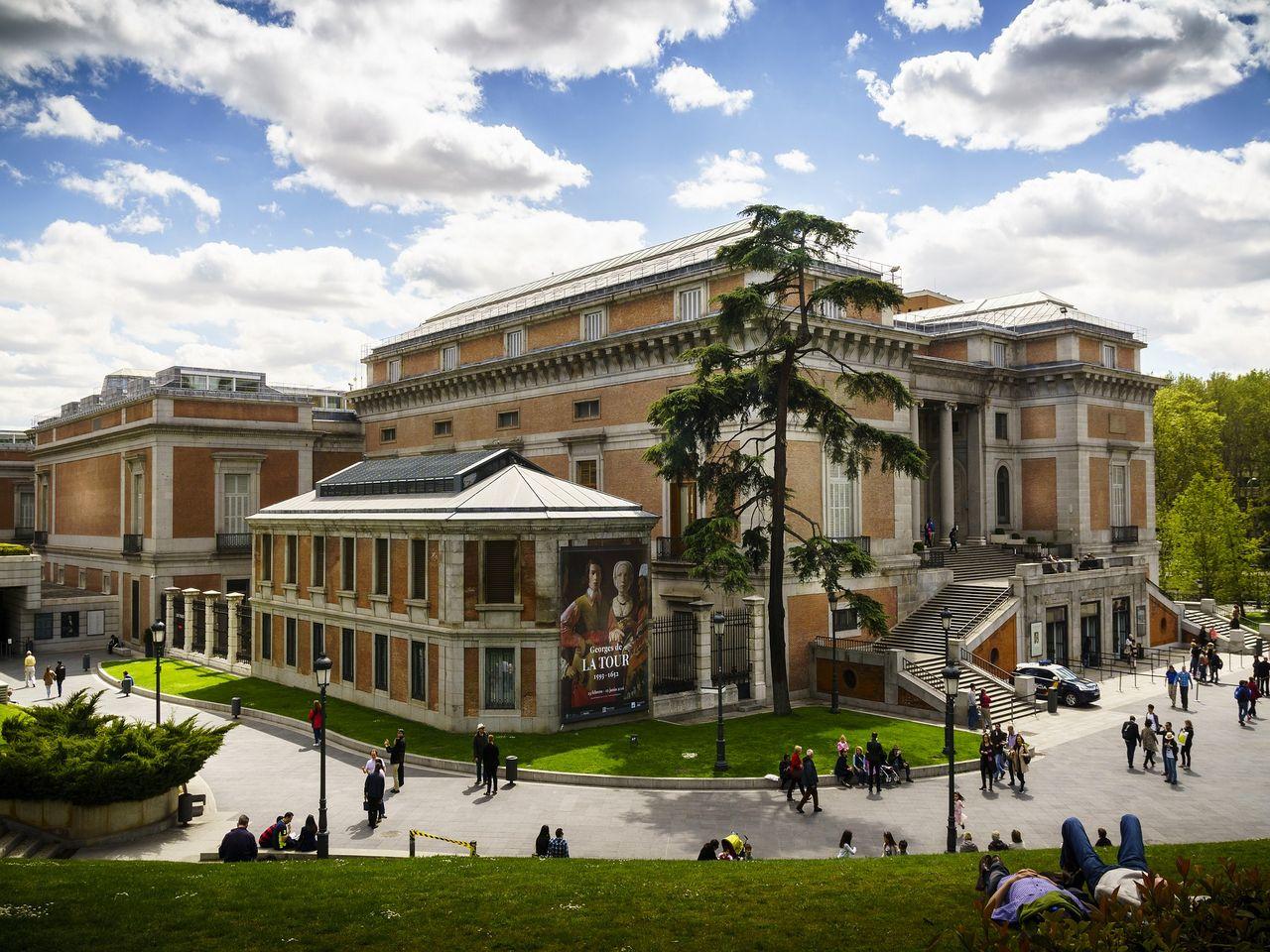 Museo del Prado en Madrid. Imagen de donfalcone en Pixabay.