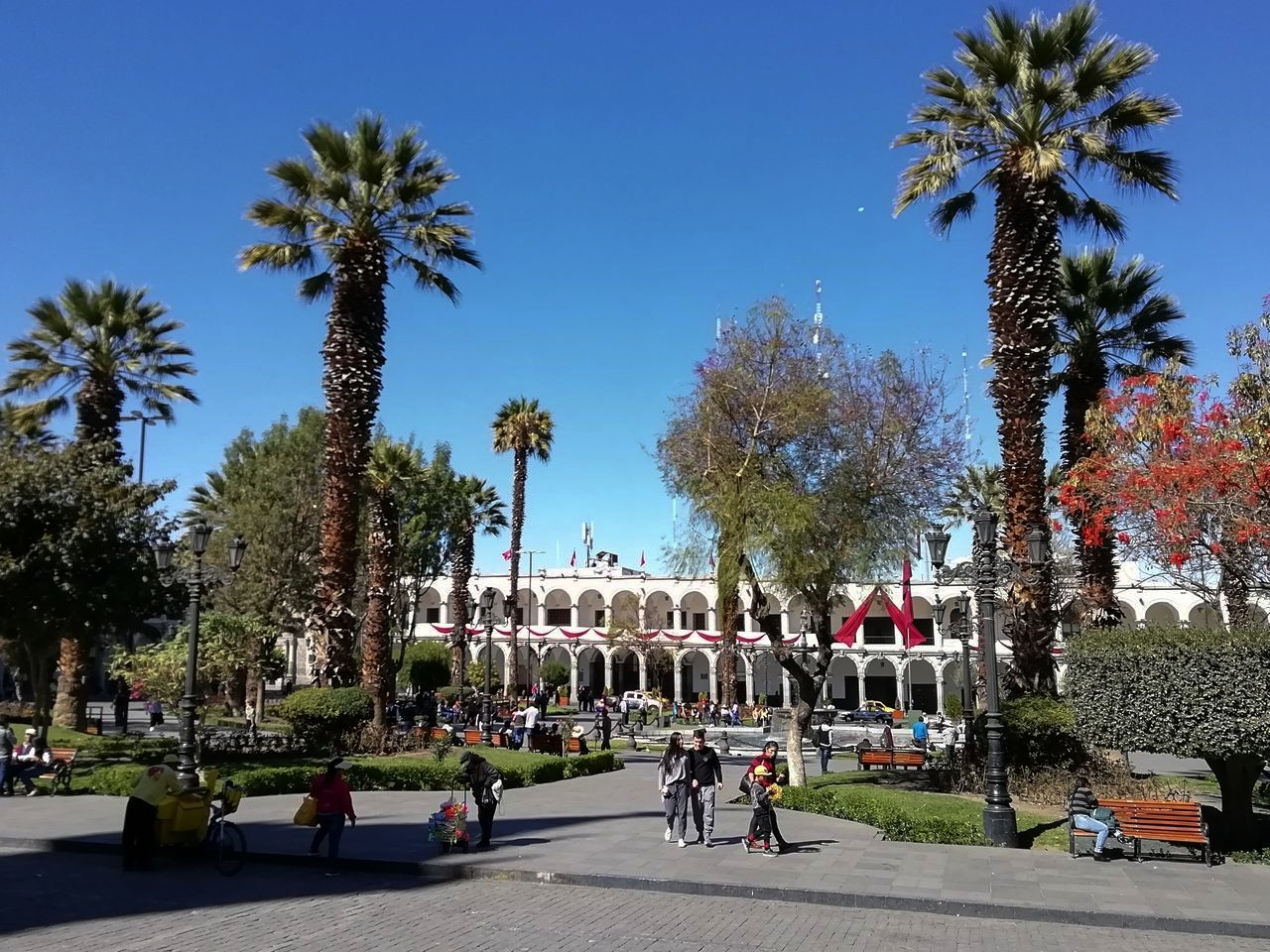 Arequipa en tres días: Plaza de Armas
