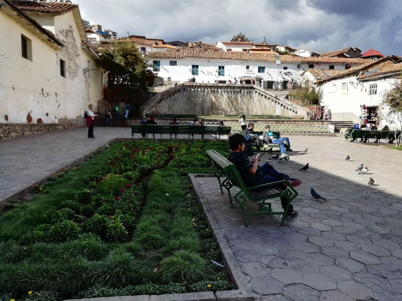 La plaza de San Blas es la zona alternativa de Cuzco, no te vayas sin verla.