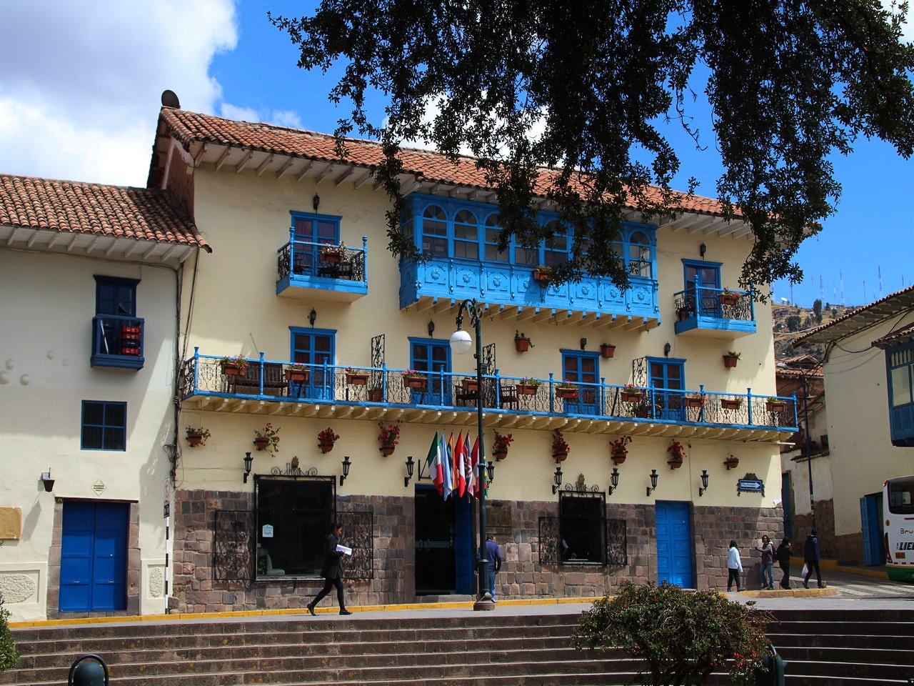 """La Plaza del Regocijo o Cusipata significa """"patio de la alegría"""" en quechua."""