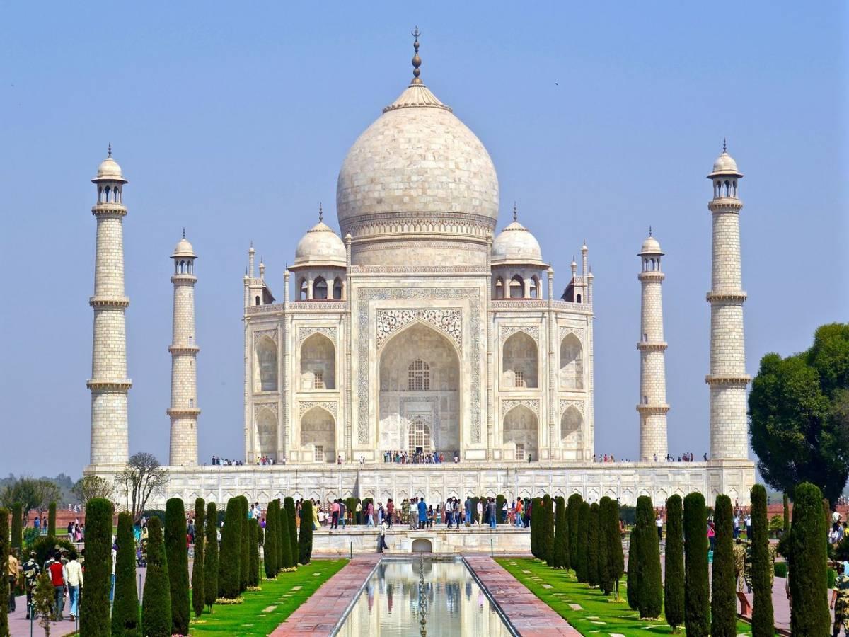 Taj Mahal en India. Imagen de Dave Parkinson en Pixabay.