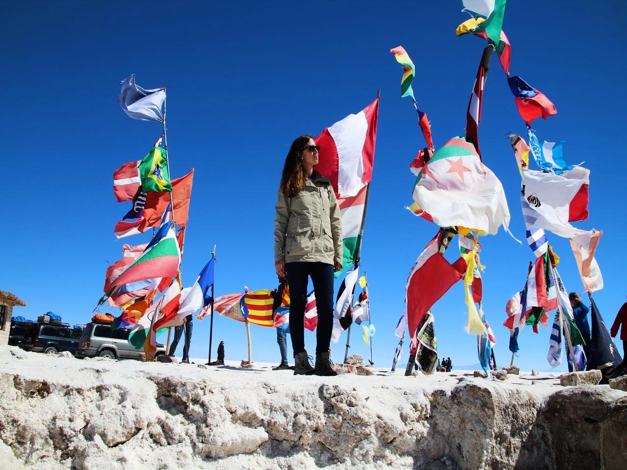 Si viajas a Bolivia, tienes que visitar el Salar de Uyuni.