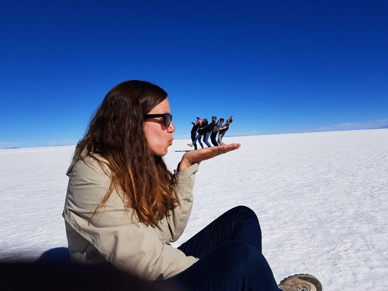 En el Salar de Uyuni cumplí uno de mis sueños viajeros.