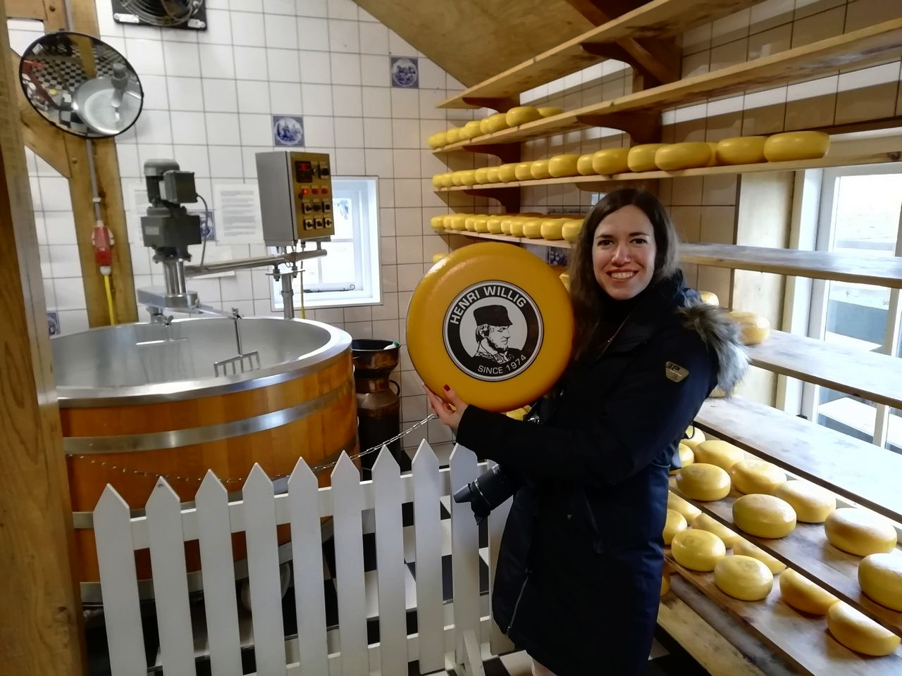 No te vayas sin probar el famoso queso de Henri Willig. ¡Espectacular!