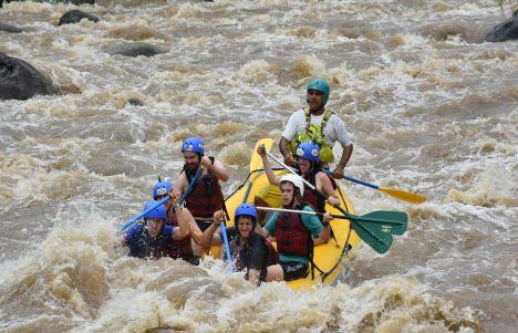 Rafting en Arenal, Costa Rica: pura diversión