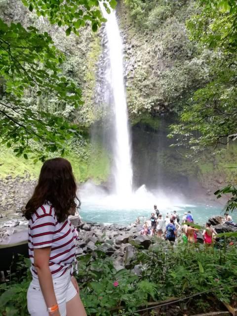 Qué ver en Costa Rica en dos semanas: catarata La Fortuna