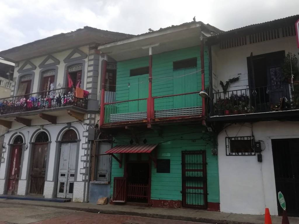 Llegó la hora en Panamá de ver sus casas coloniales de colores.
