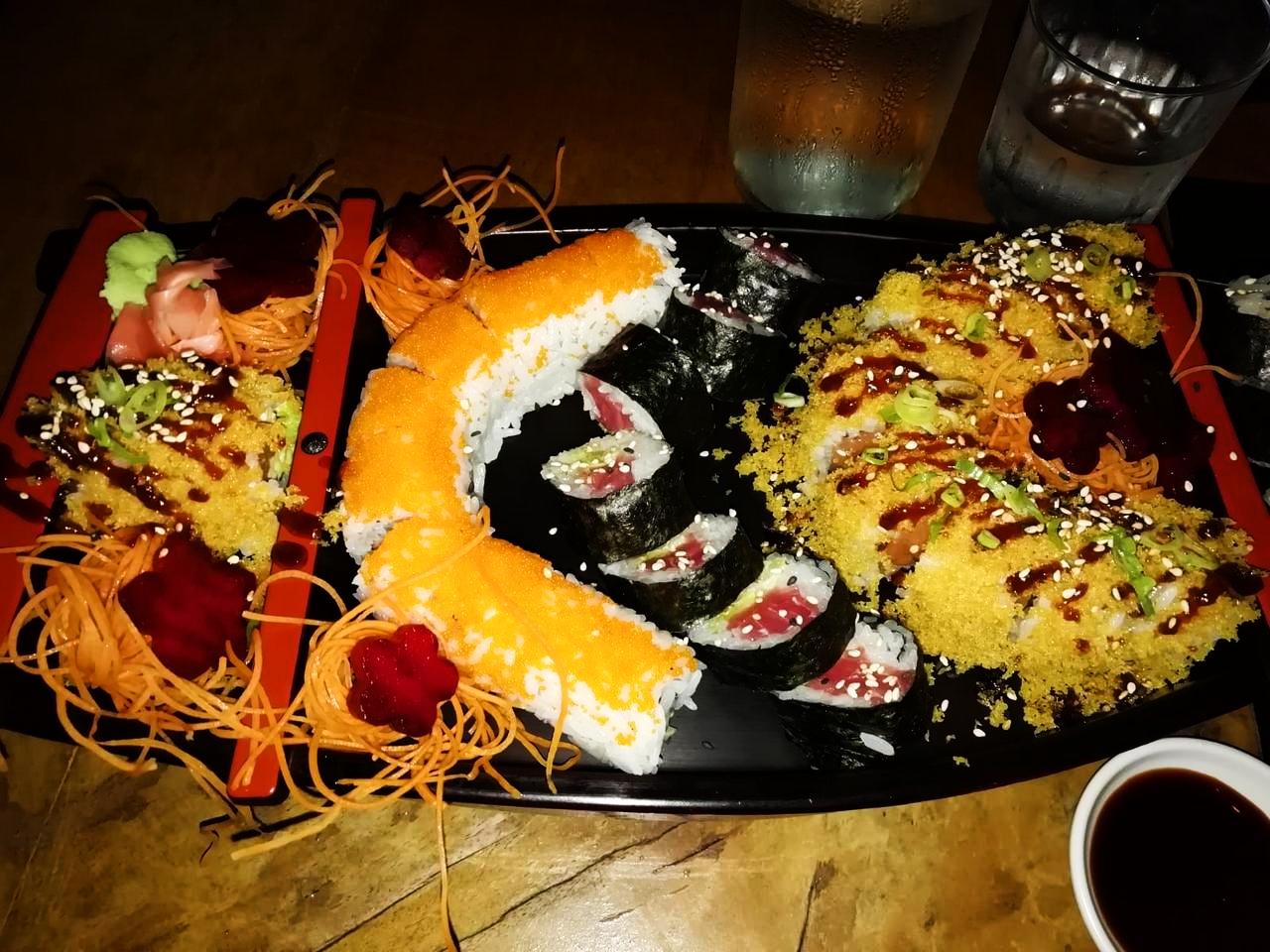 Kappa Sushi es el mejor japonés donde comer en La Fortuna, Costa Rica.