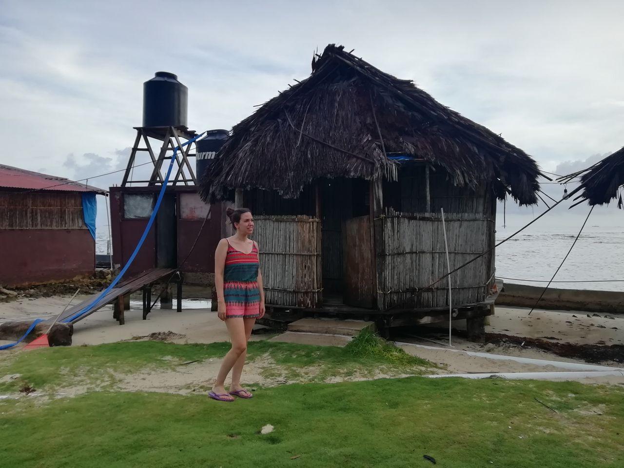 Islas de San Blas en 2 días: cabaña sin vistas en la que me alojé.