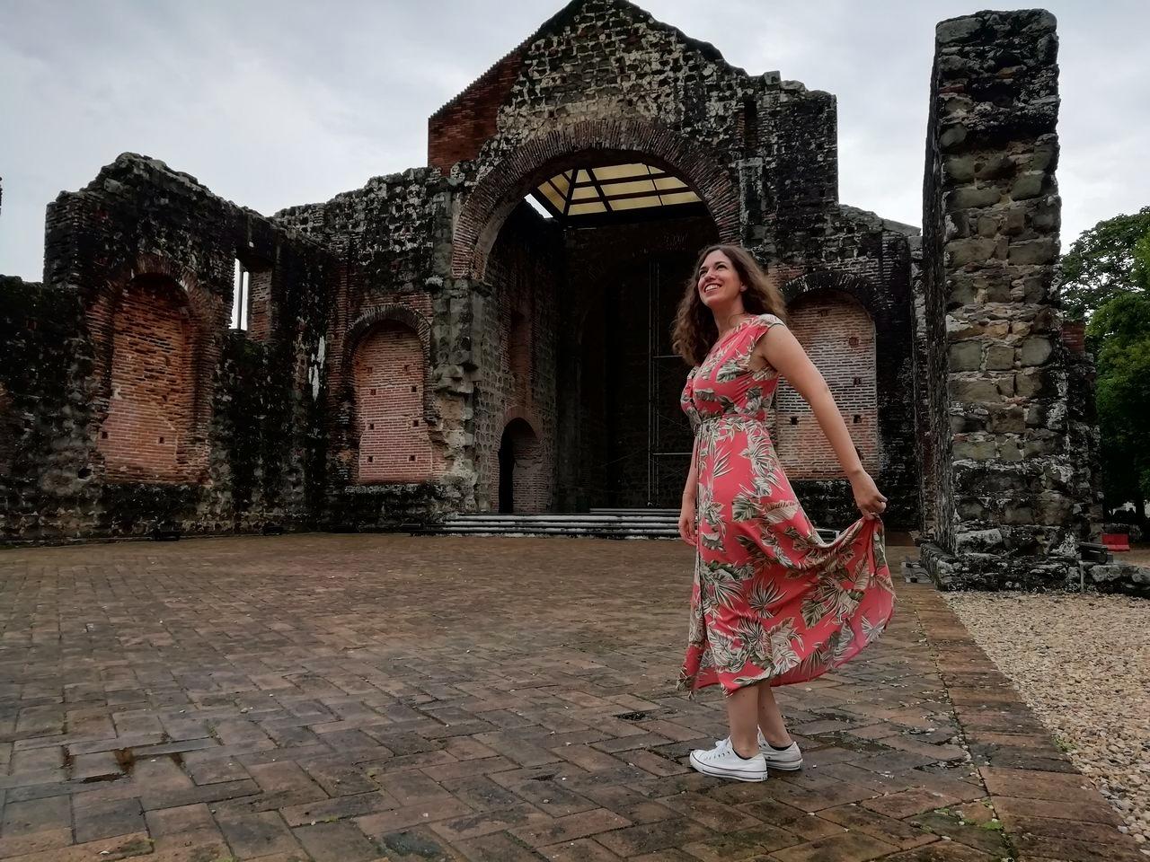 Tienes que ver en Ciudad de Panamá el sitio arqueológico de Panamá Viejo.