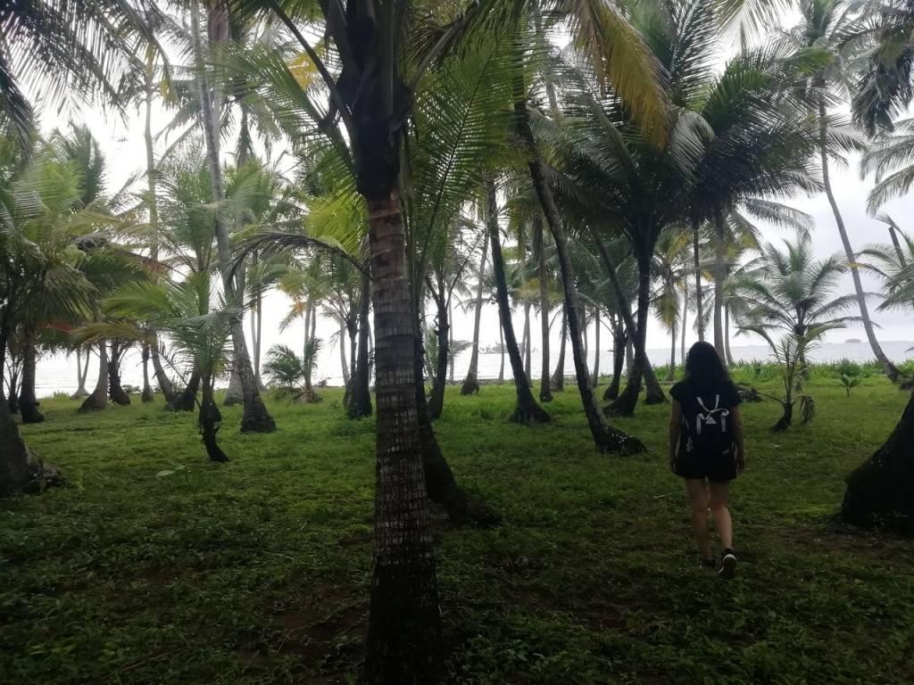 Naranjo Chico es una isla muy pequeña que puedes recorrer entera en 30 minutos.