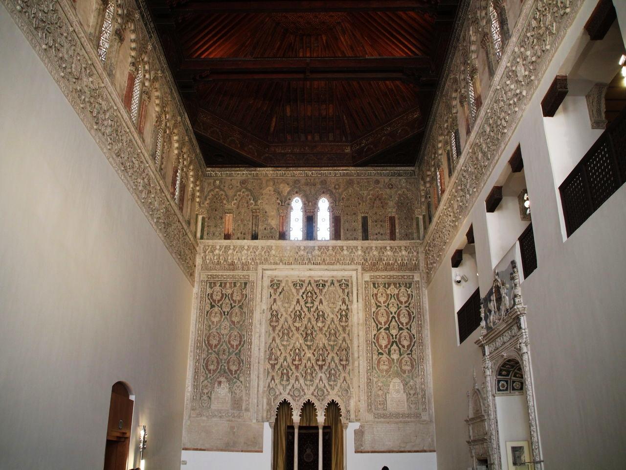 Uno de los imprescindibles en Toledo en dos días es la Sinagoga del Tránsito.