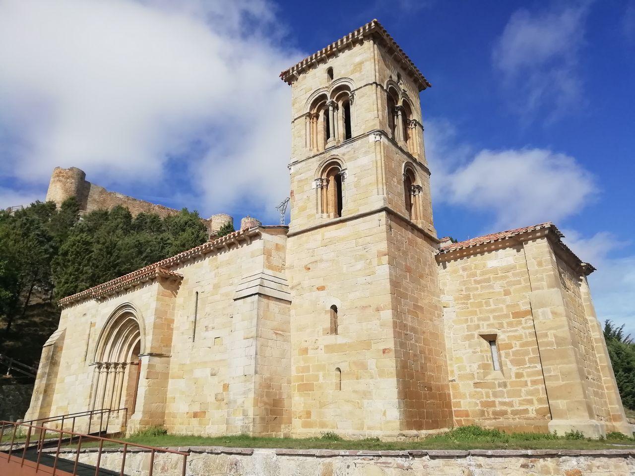 Ermita de Santa Cecilia, en Aguilar de Campoo.