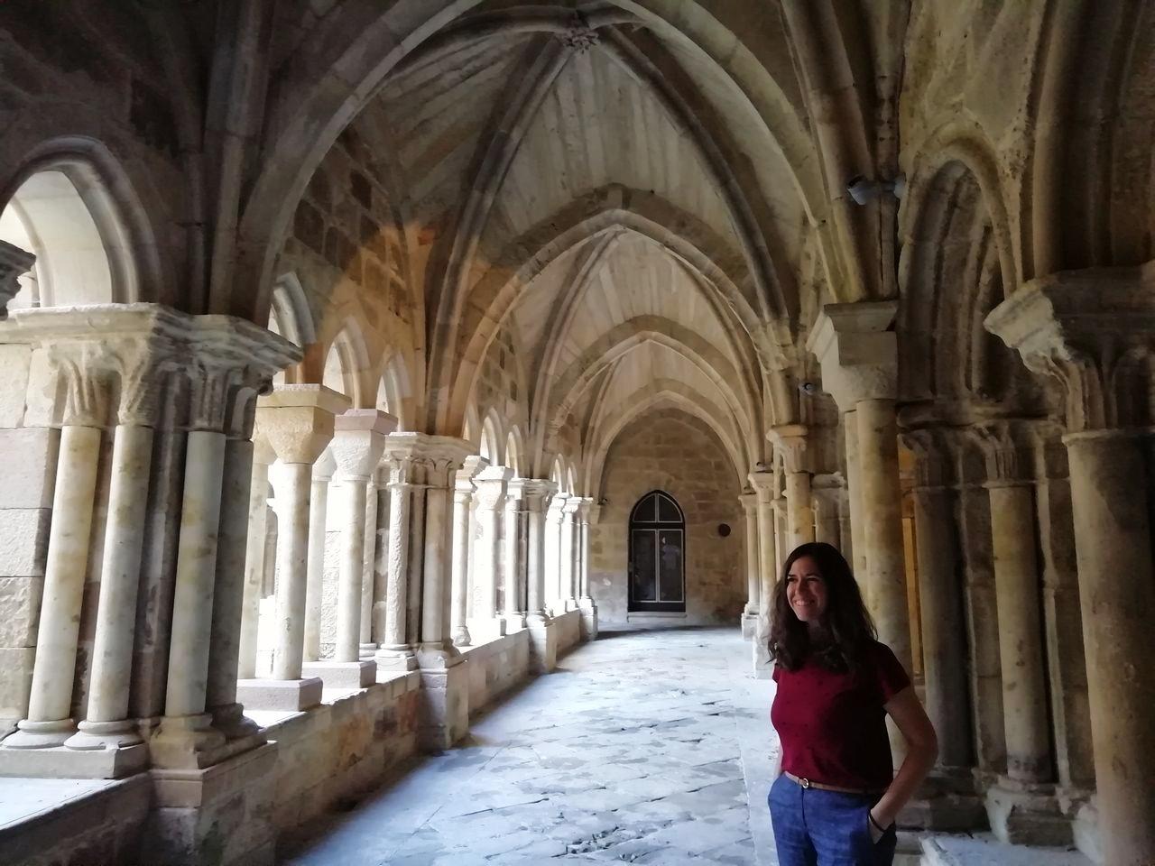El Monasterio de Santa María la Real en Aguilar de Campoo es una visita obligada en la ruta por el románico palentino.