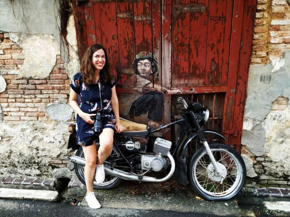 Presupuesto para viajar a Malasia y ver arte urbano como el de Penang.