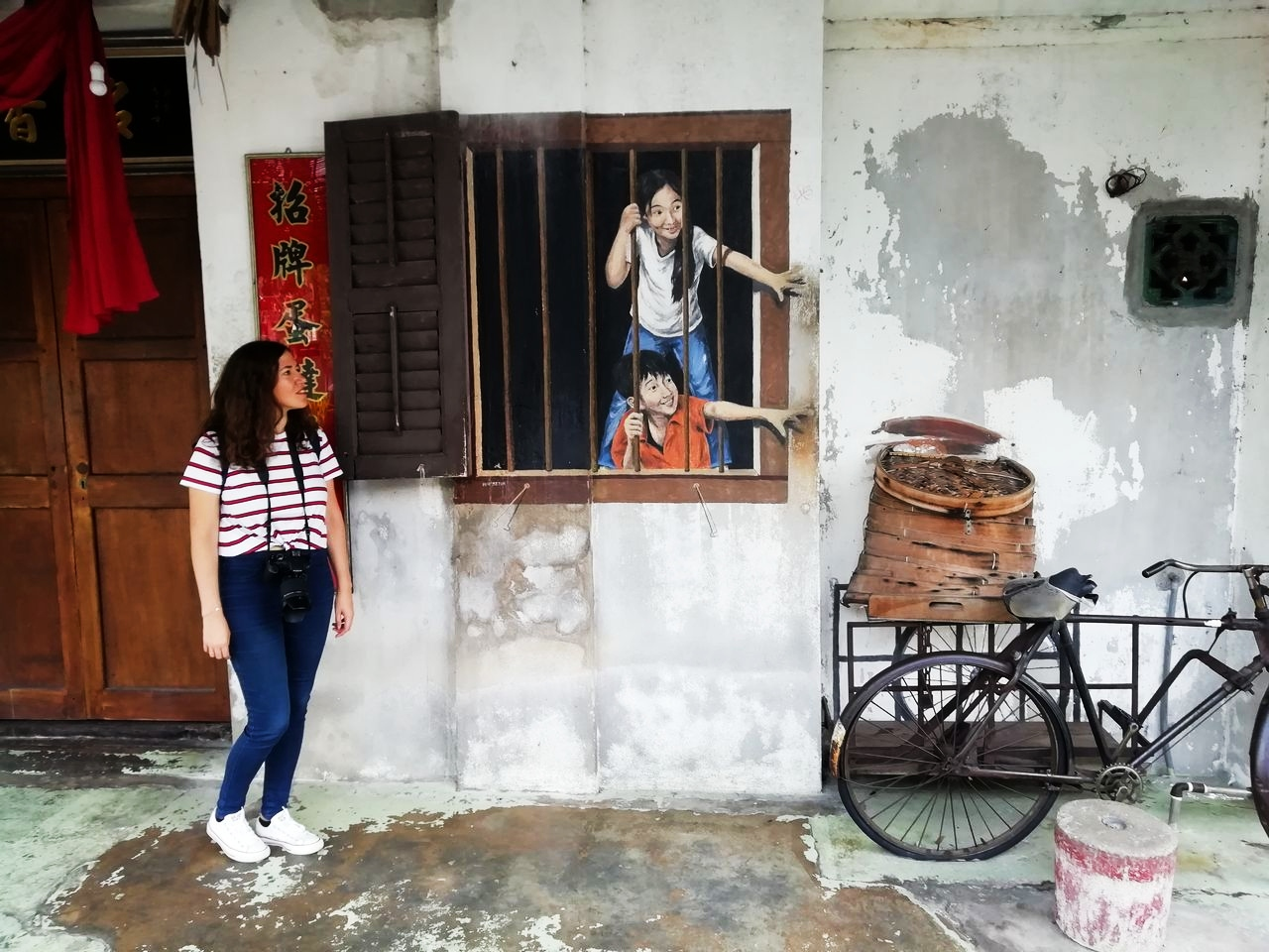 Qué ver en Penang en dos días: arte urbano o street art.