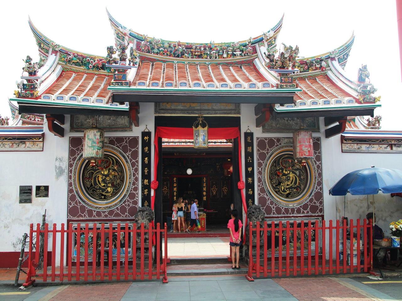 Cheng Hoon Teng es mi templo favorito en Malaca. ¡Inclúyelo en tu itinerario por Malasia en 10 días!