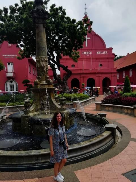 Christ Church, la iglesia más original que ver en Malaca en un día.