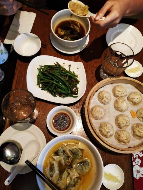 Cuánto cuesta un viaje a Malasia: comida en Din Tai Fung, mi restaurante favorito.