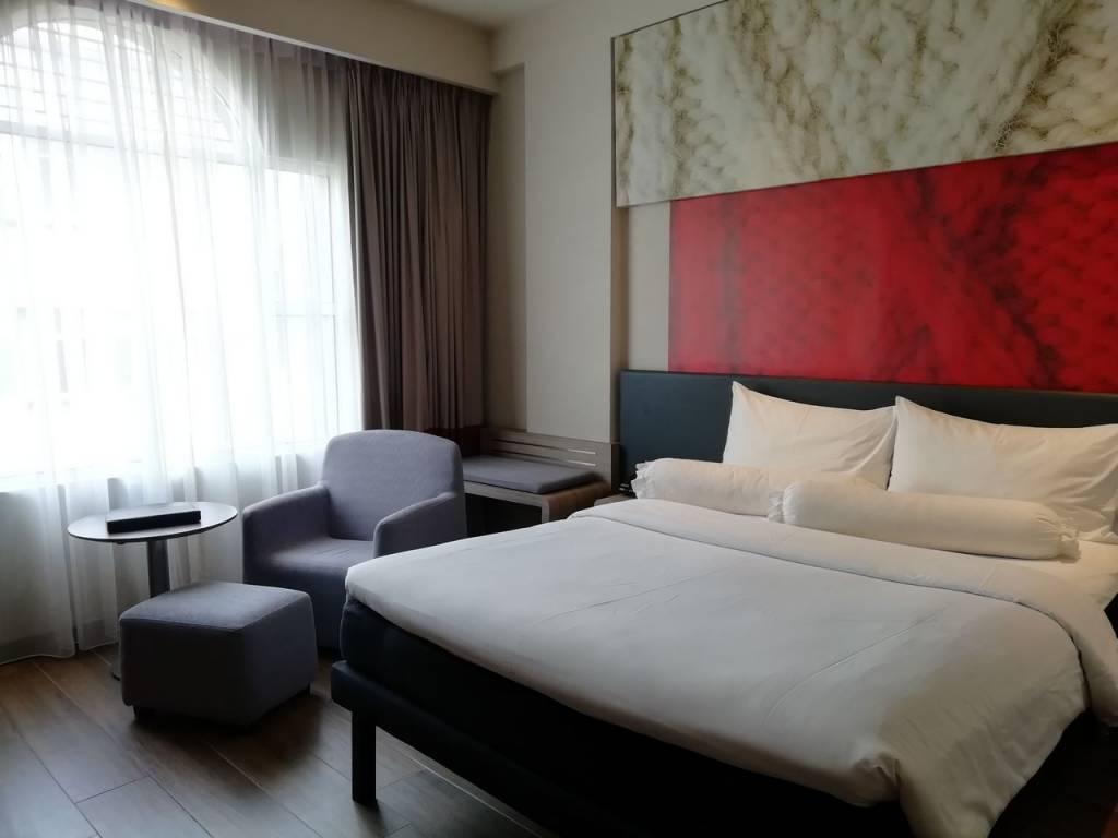 Dónde dormir en Malaca: hotel Ibis Melaka, en Little India.