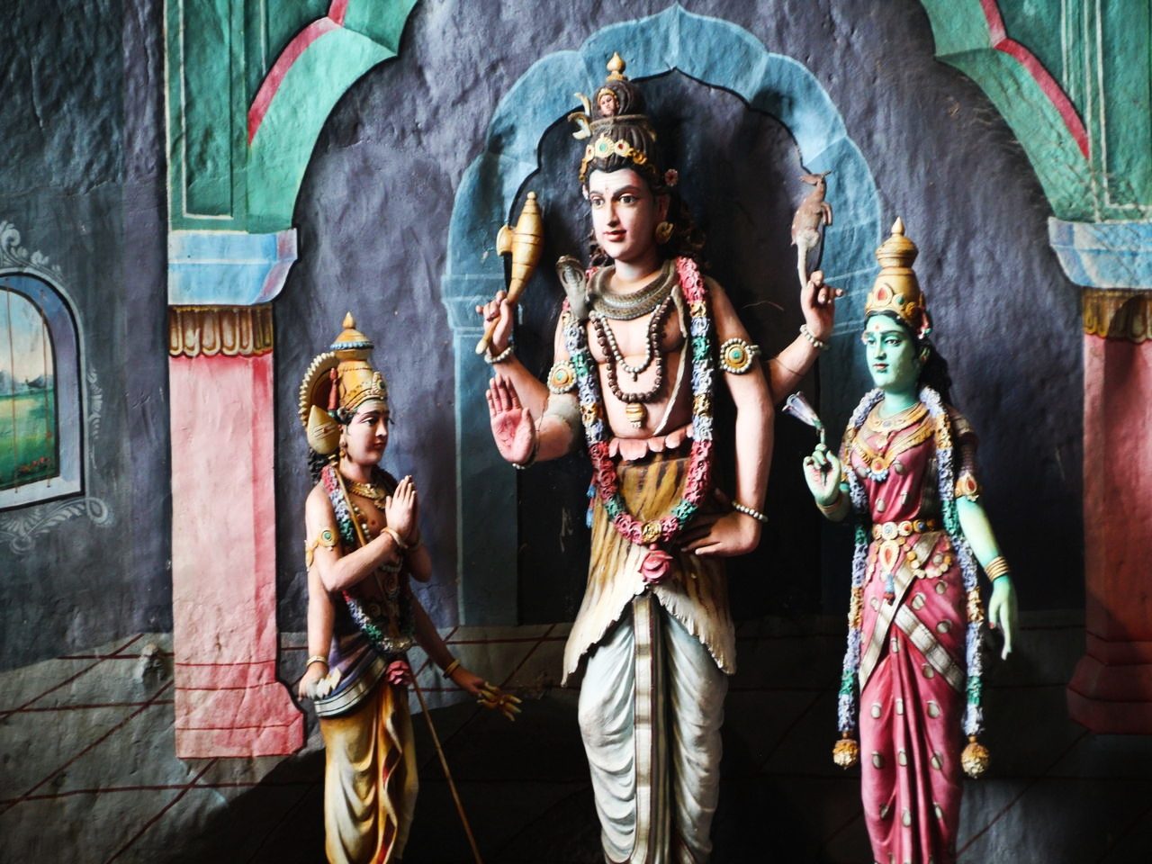 Jamás había visto tantos templos hinduistas hasta que visité Malasia.