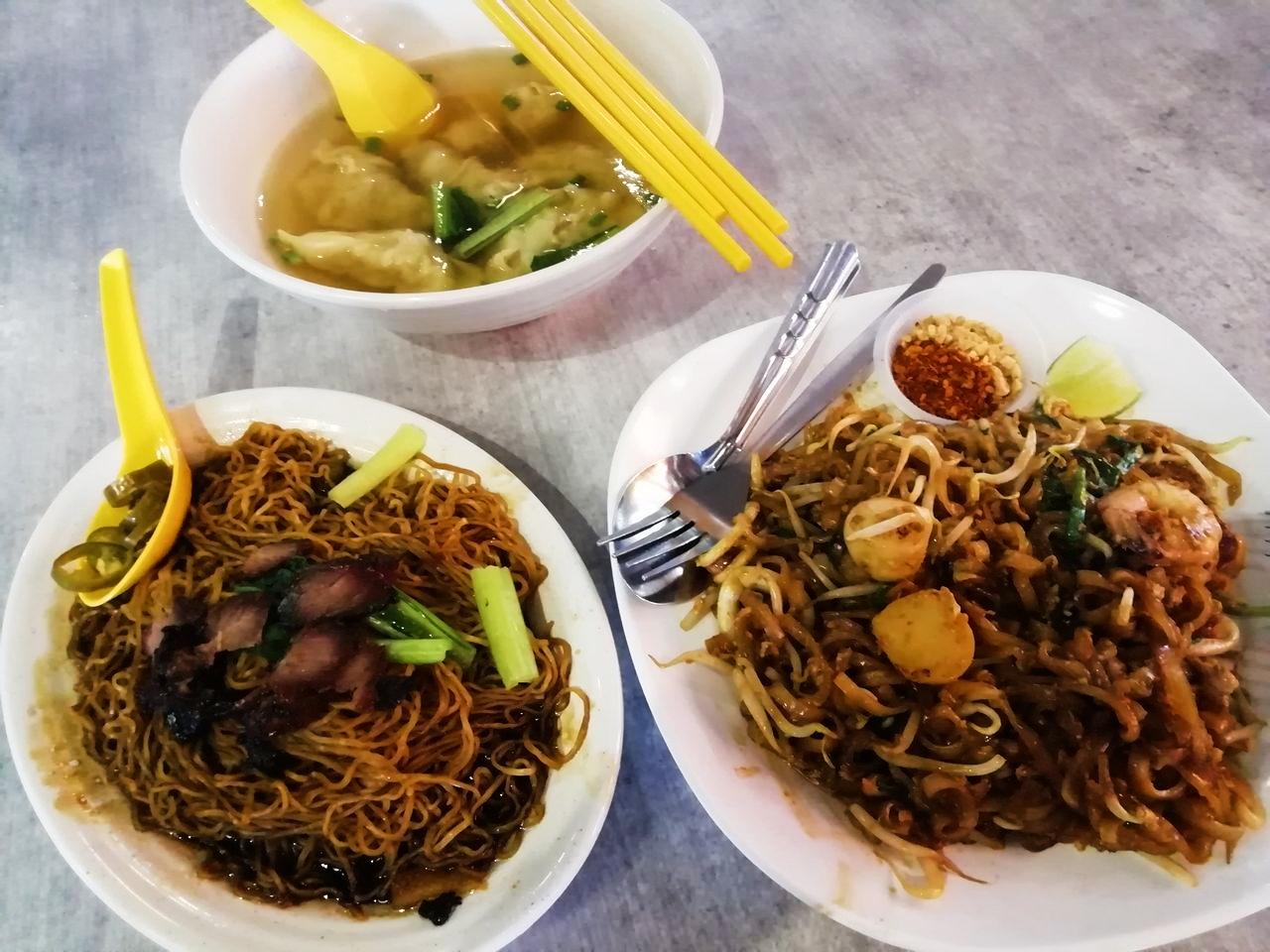 Dónde comer en Penang: Jetty Food Court.