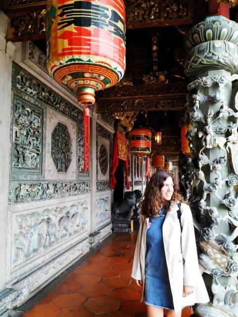 En tu visita a Penang en dos días no te pierdas Khoo Kongsi, la villa lujosa de un antiguo clan chino.