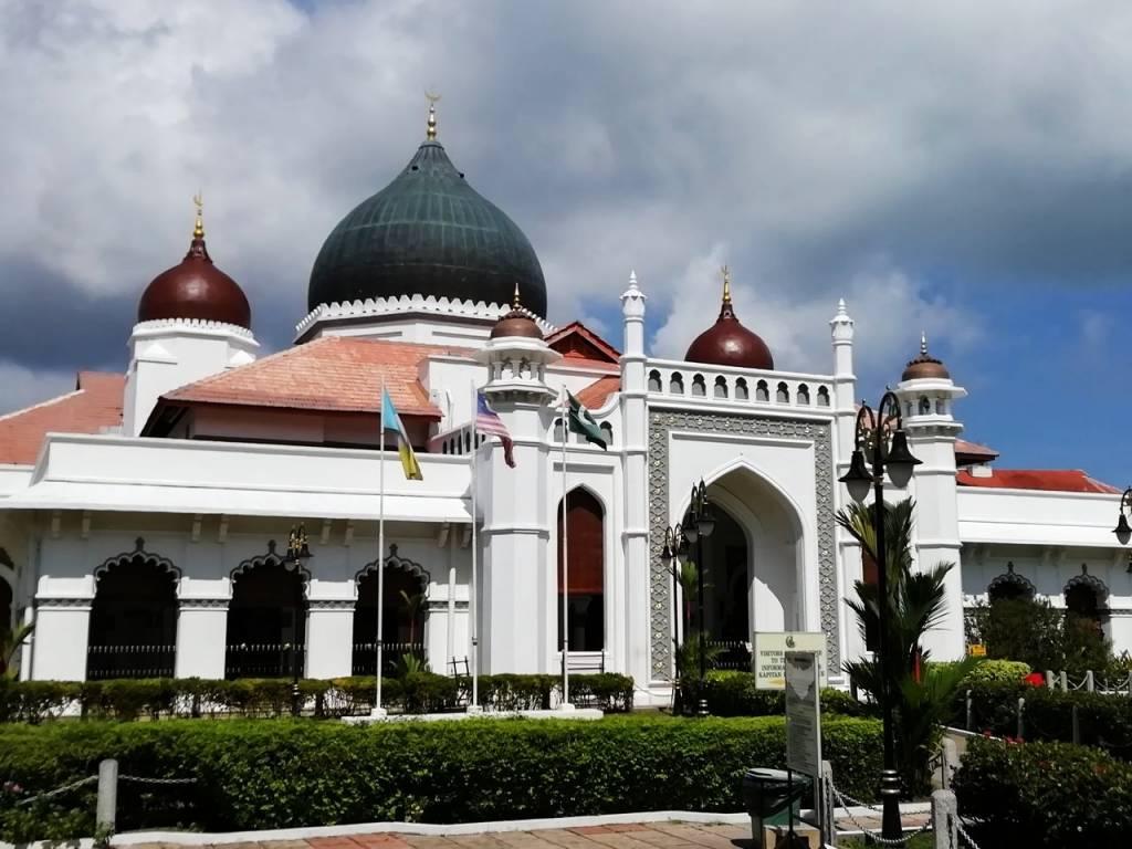 Imprescindibles en Penang: mezquita Kapitan Keling.