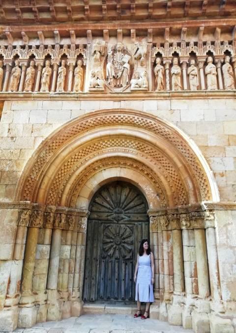 En tu ruta por el románico palentino en dos días no te vayas sin ver Moarves de Ojeda.