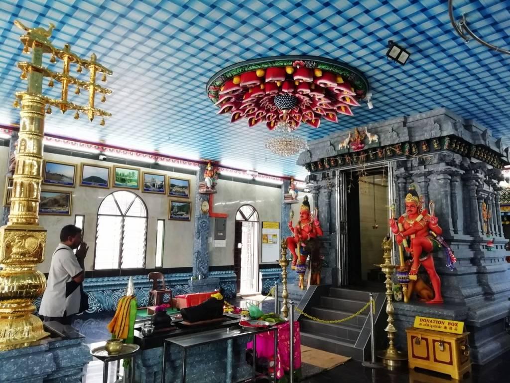 Templo hinduista en Penang Hill: uno de los imprescindibles en Penang.