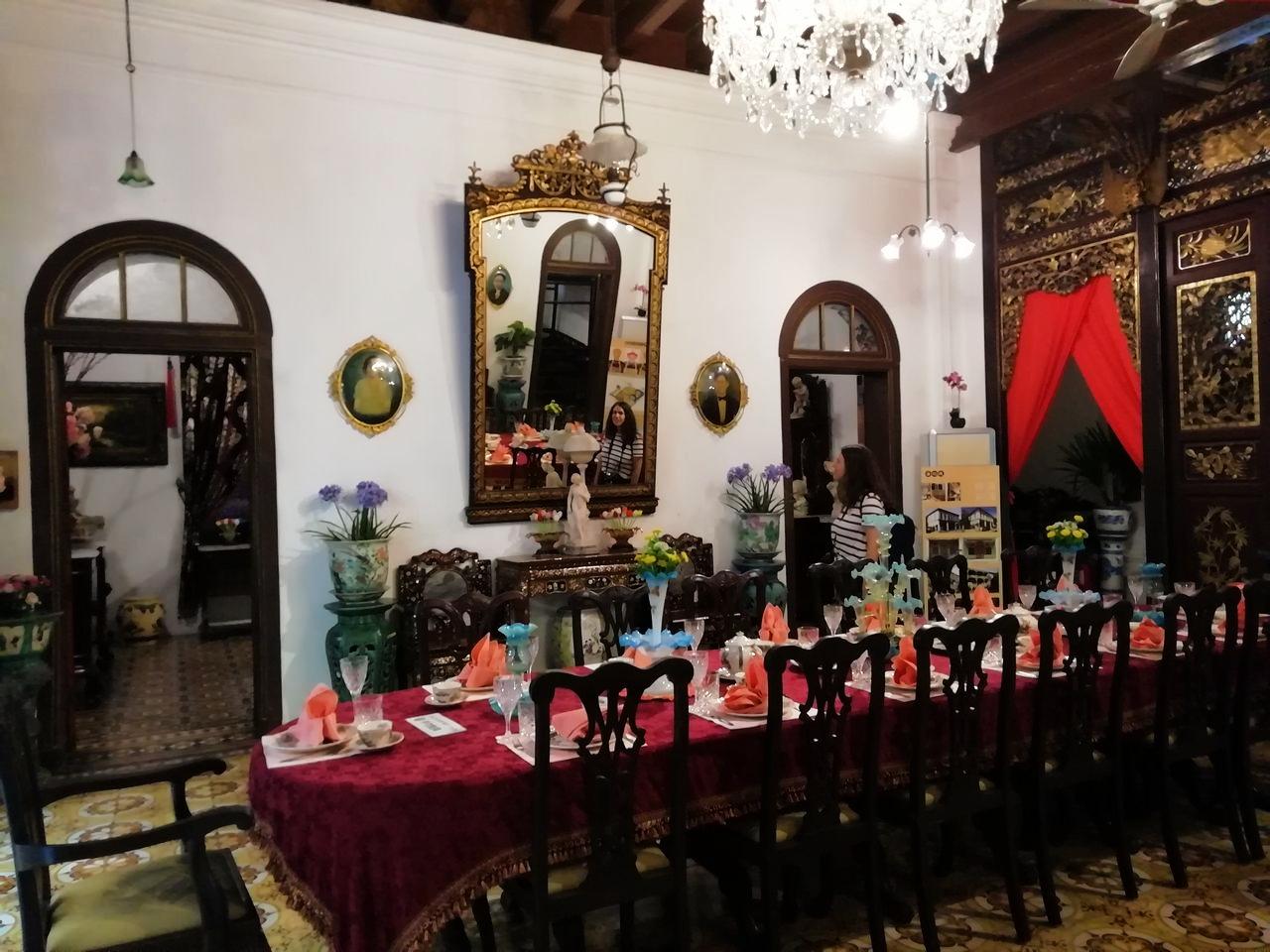Malasia en 10 días: conocer la cultura peranakan visitando una de sus mansiones en George Town.