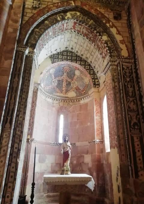 La iglesia de Santa María de Mave es uno de los templos románicos más representativos del norte de Palencia