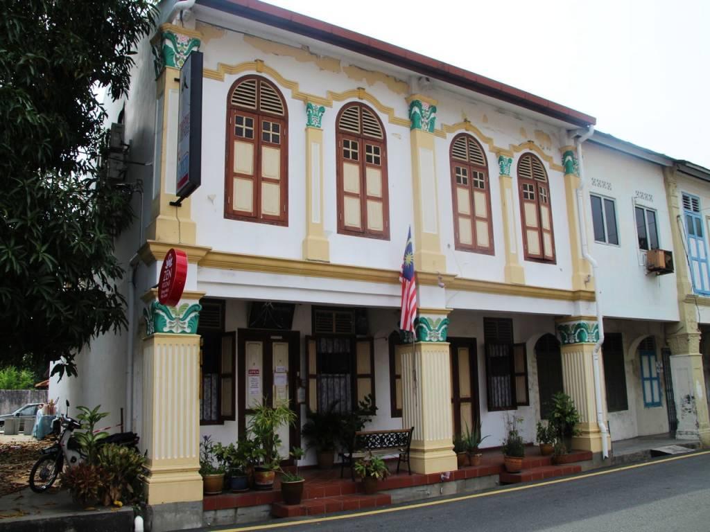 Qué ver en Malaca en un día: shophouses en el casco antiguo.