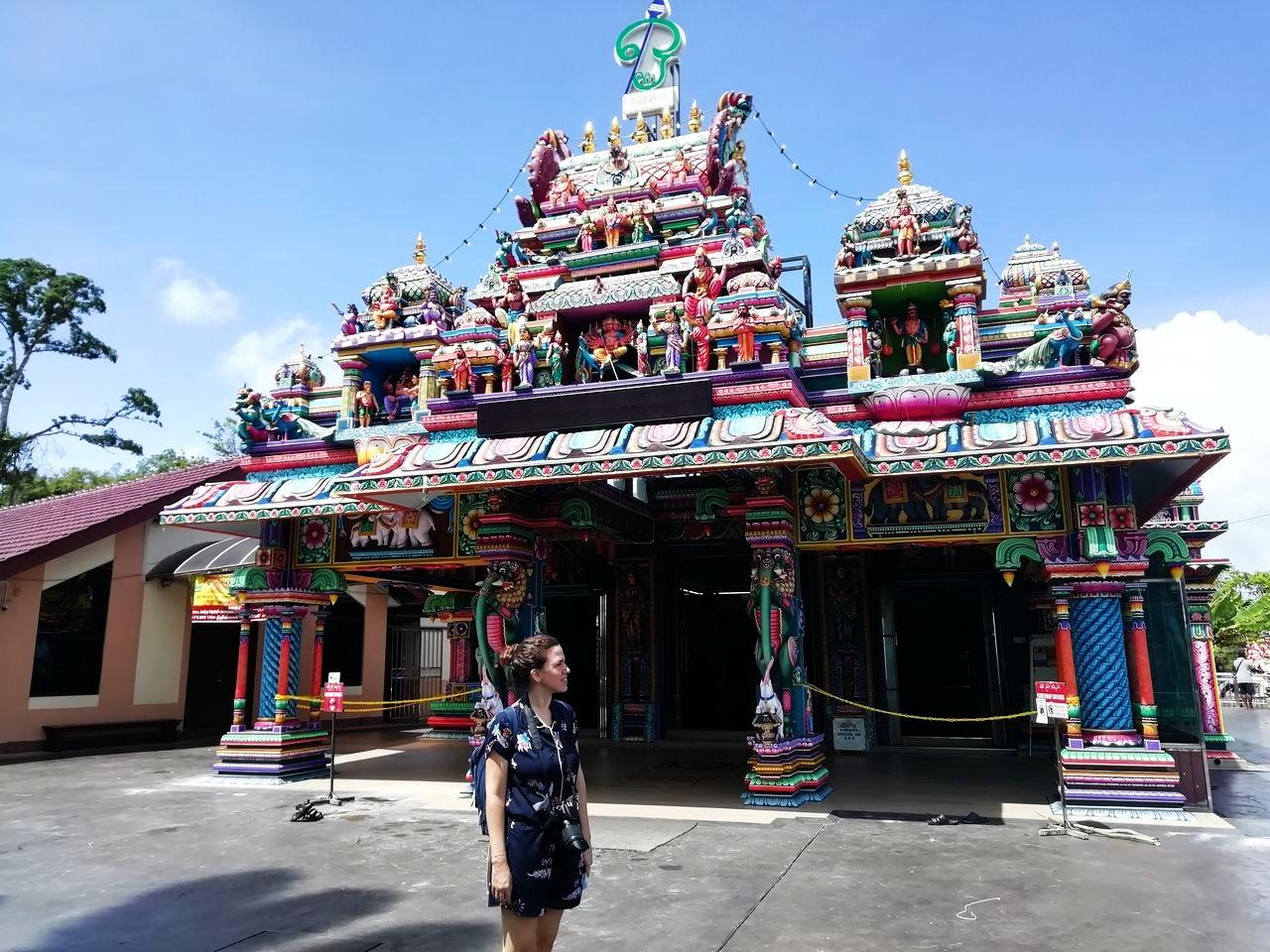 Nunca había visto tantos templos hinduistas hasta que viajé a Malasia.