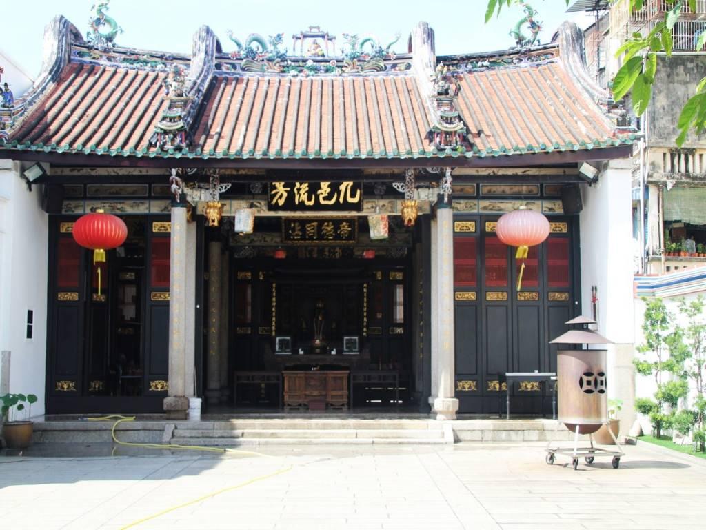Hay tantos templos en Penang que tendrás que elegir.