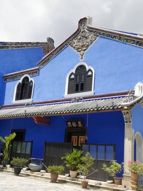 La Blue Mansion era una de las construcciones más lujosas de la época.